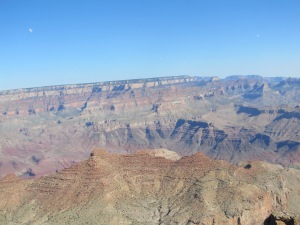The Grand Canyon at the Desert View Watchtower
